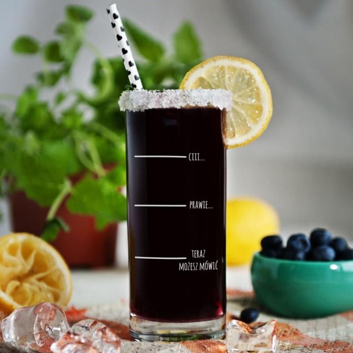 Pomysły na prezent mikołajkowy - szklanka do drinków