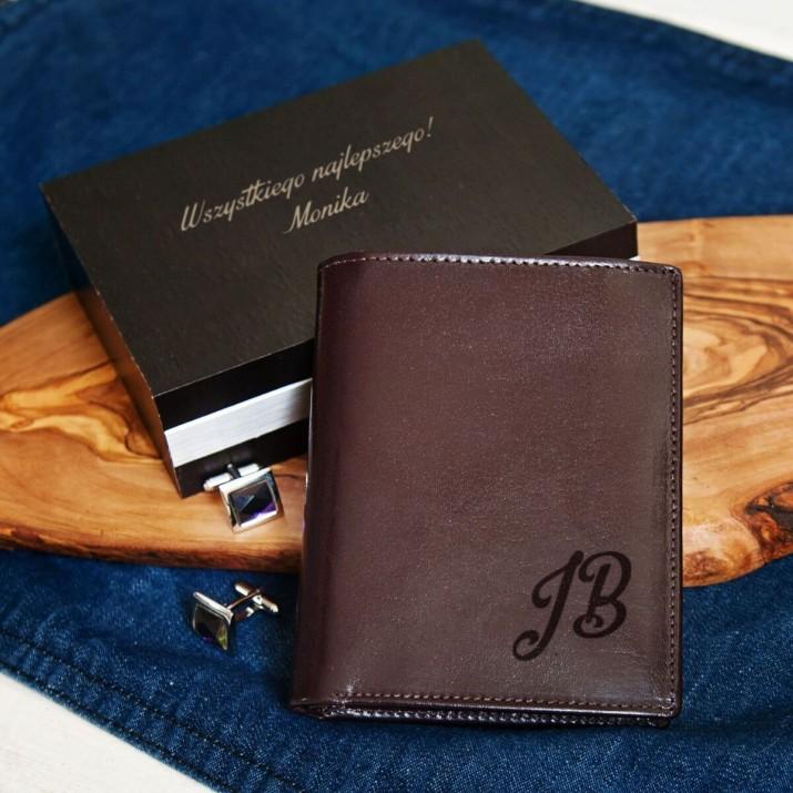 prezent dla twojego mężczyzny - portfel skórzany