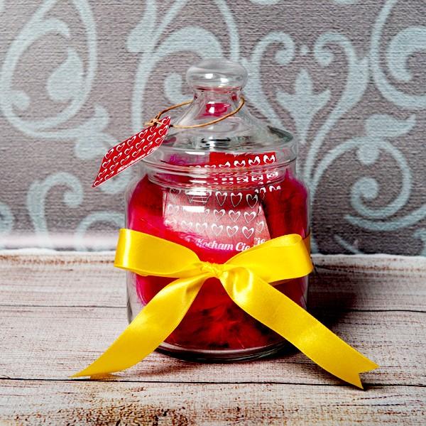 5 prezentów dla dziewczyny do 100 zł - słój życzeń