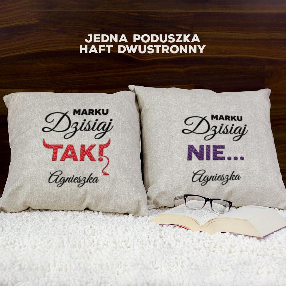 prezent dla pary- poduszka dekoracyjna