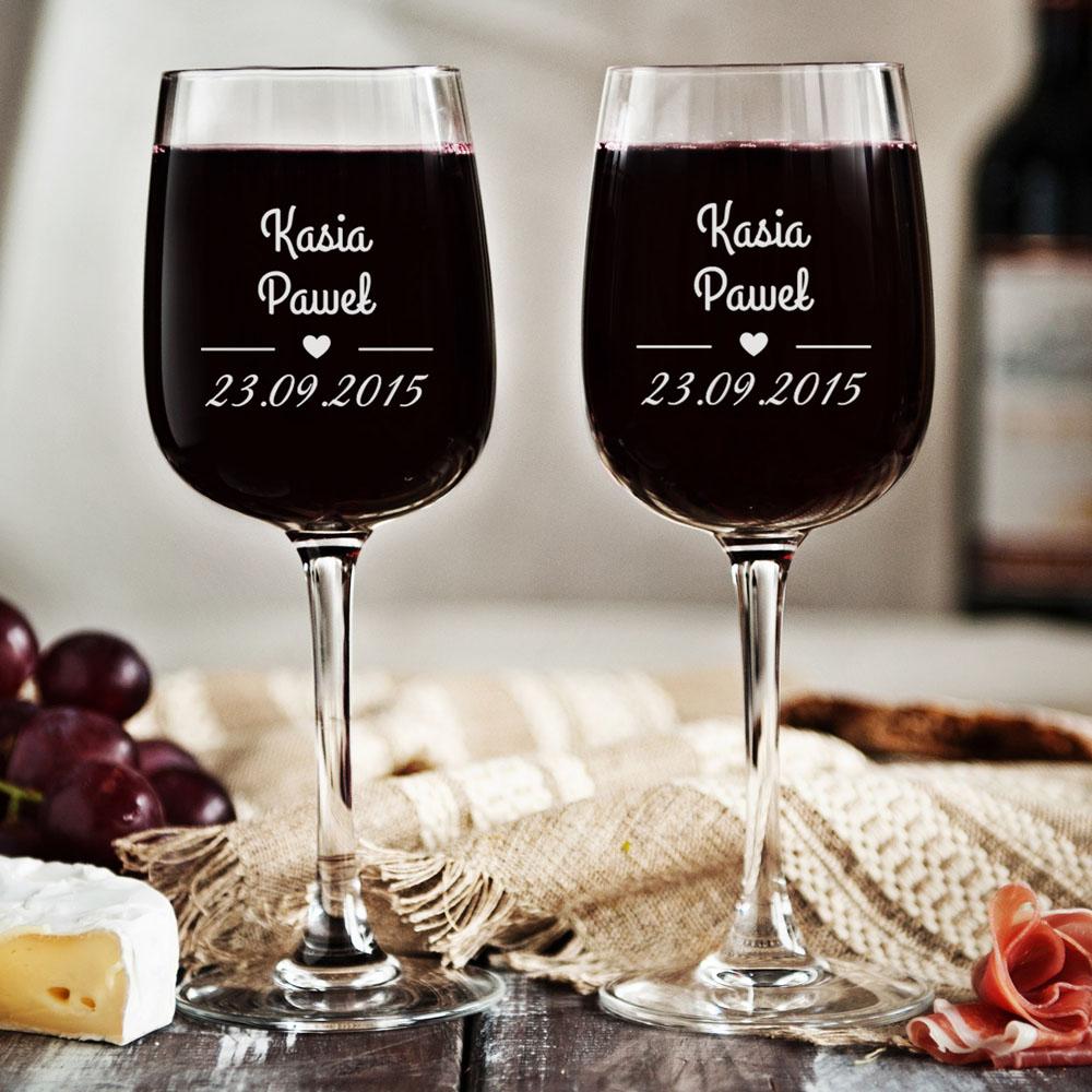 zestaw kieliszków do wina - nasza data