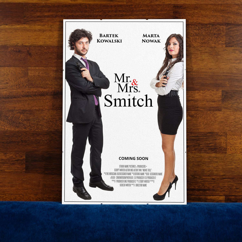 prezent dla pary- plakat filmowy