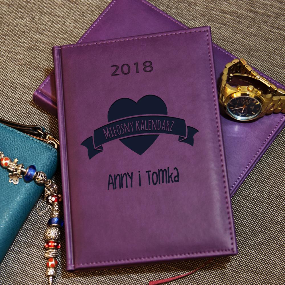 miłosny - kalendarz 2018