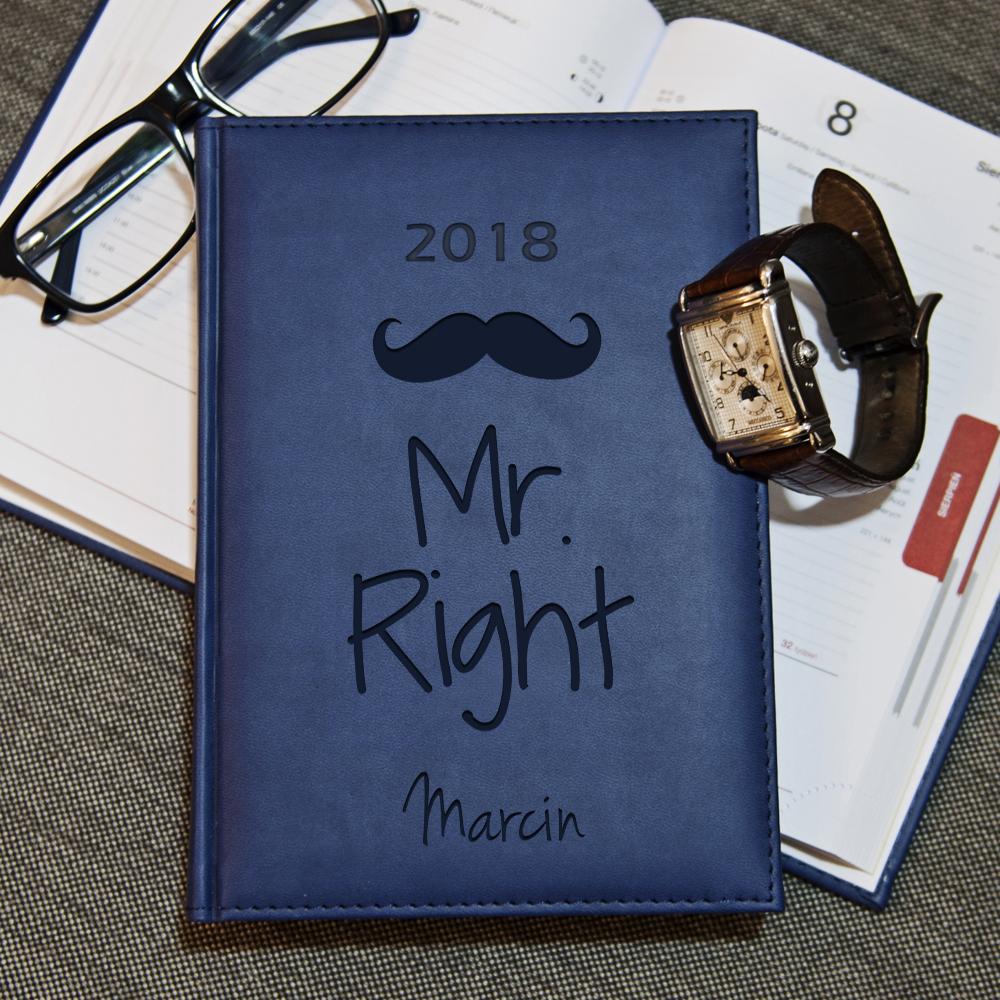 Mr Right - kalendarz 2018