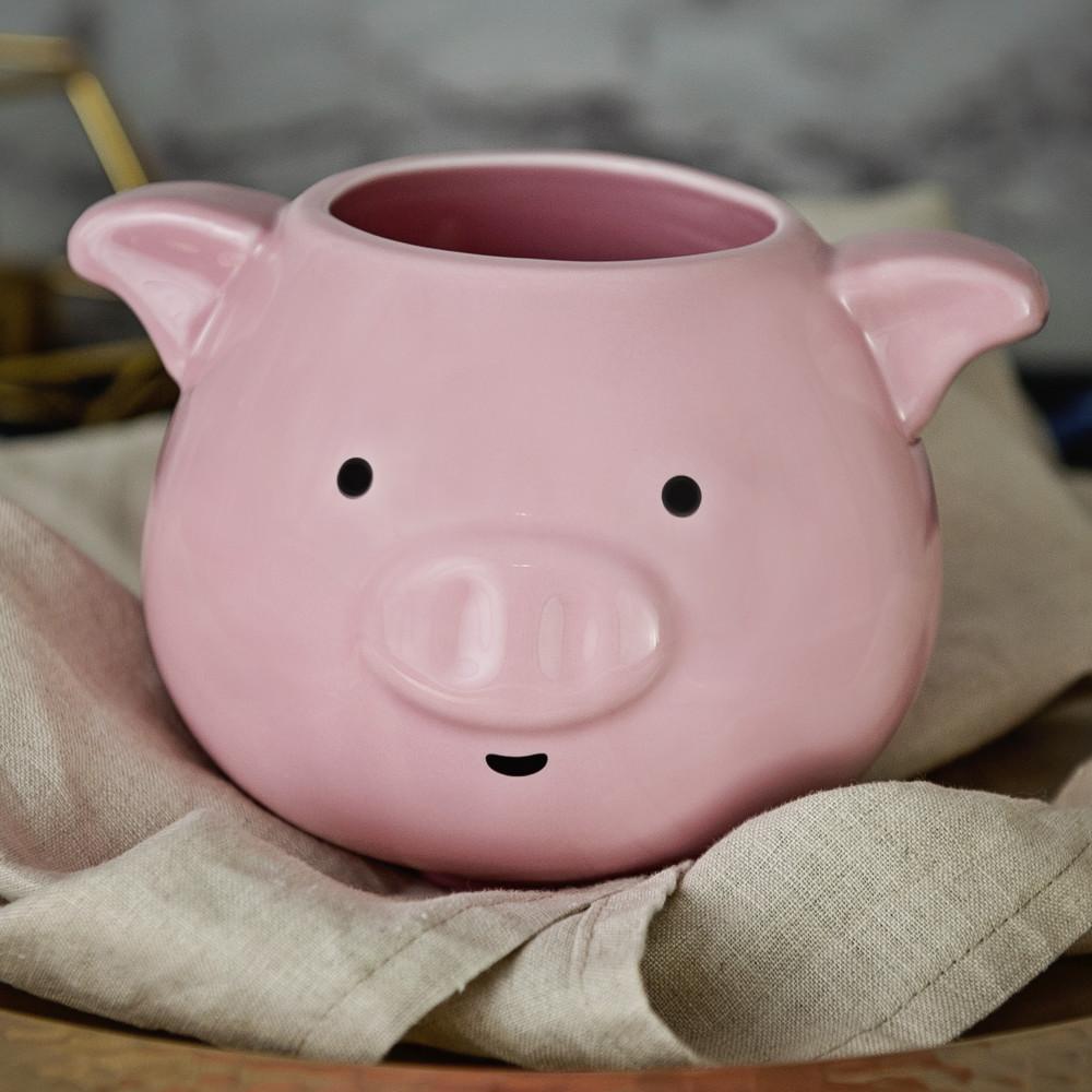 prezent dla wielbiciela zwierząt - kubek świnka