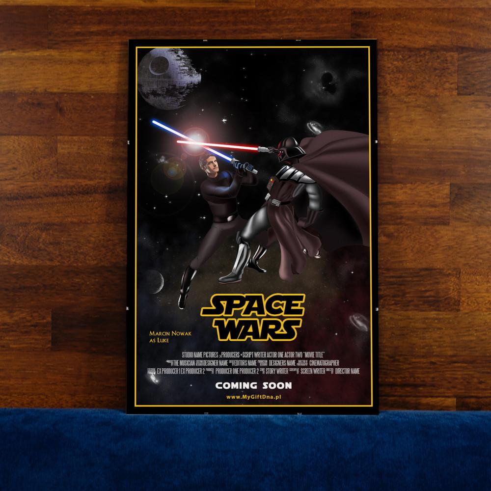 Najlepsze prezenty dla fanów Gwiezdnych wojen - plakat filmowy