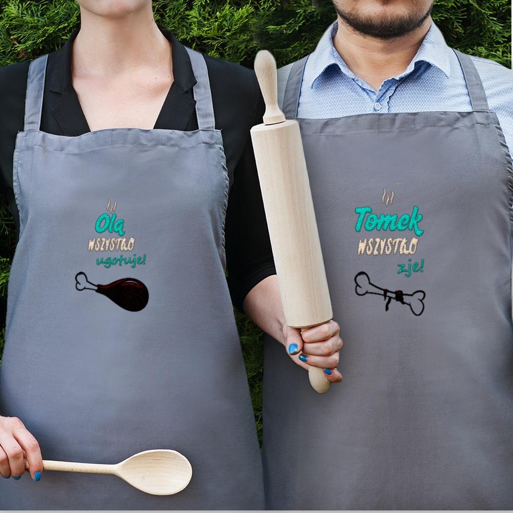 Zestaw fartuchów - pomysł na prezent dla pary