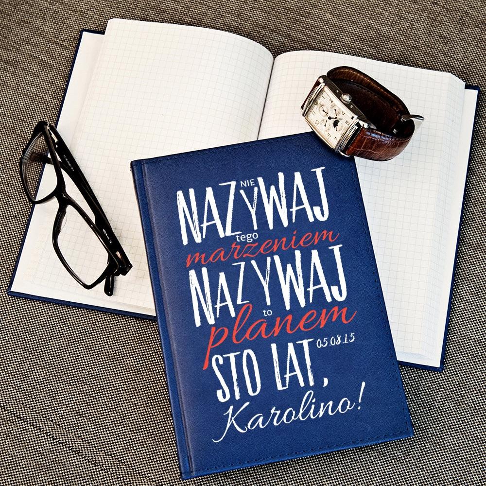 notatnik - prezent dla koleżanki z pracy