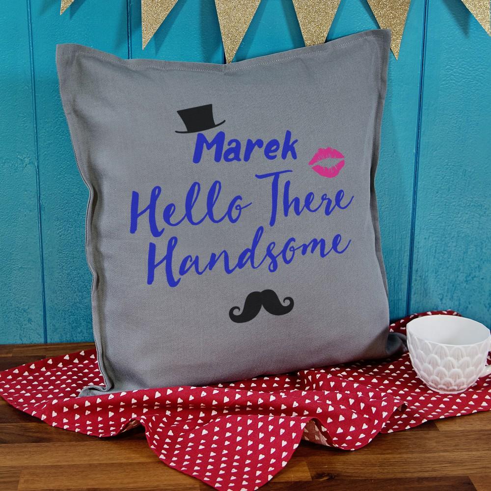 poduszka - pomysł na prezent dla męża