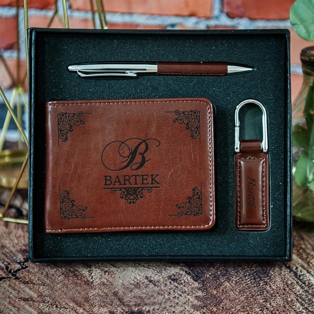 zestaw z portfelem - imieniny Jerzego