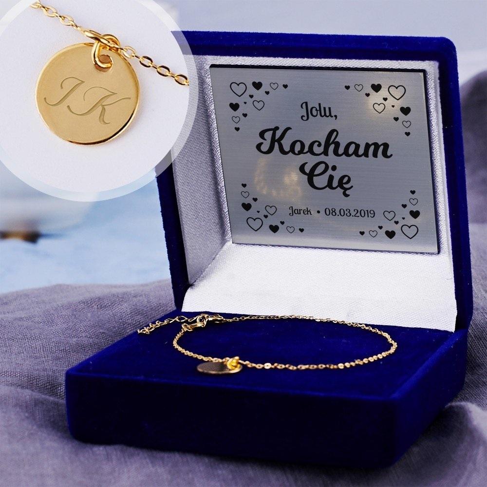 bransoletka z kółkiem - prezent na rocznicę ślubu dla żony
