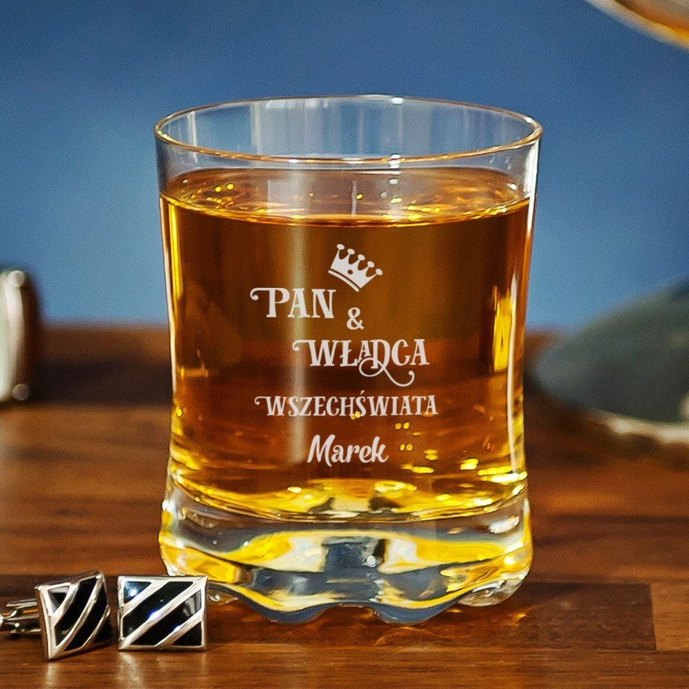 szklanka do whisky - imieniny Jerzego