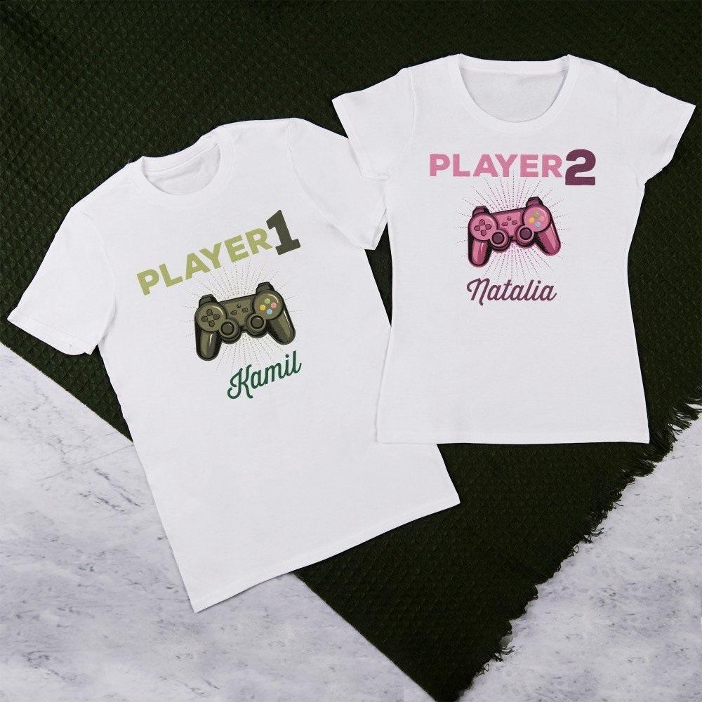 zestaw koszulek dla par - pomysł na prezent dla pary