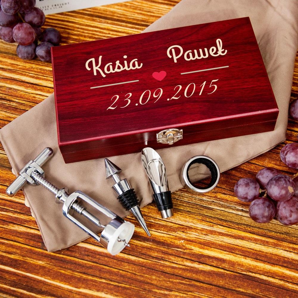 zestaw do wina - oryginalny prezent dla pary
